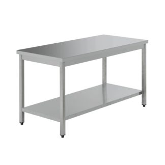 Tables inox 60 x 70 x 85H sans dosseret