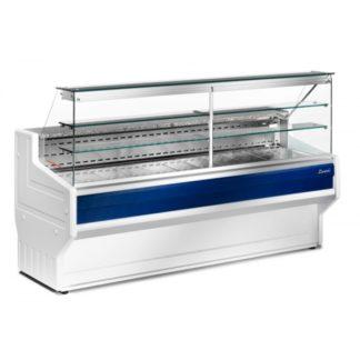 Vitrine réfrigérée 150 cm vitres droites froid statique HILL