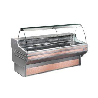 Vitrine réfrigérée 100 cm vitres bombées froid statique ou ventilé