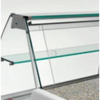Fermeture arrière en plexiglass 100 cm