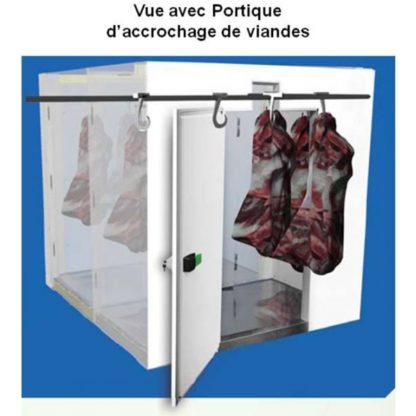 Mini Chambres froides démontables négatives 2.45 m3 cellule de refroidissement