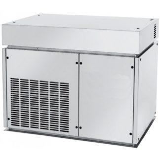Machine à glace écaille 800 kg sans réserve meuble cuisine inox