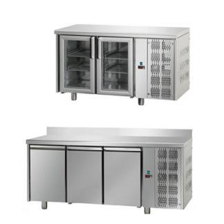 Table réfrigérée et accessoires - Meuble cuisine inox professionnel