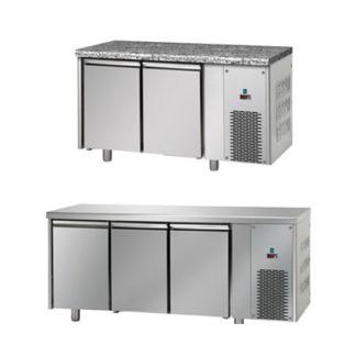 Table réfrigérée basse température - Meuble inox cuisine professionnel